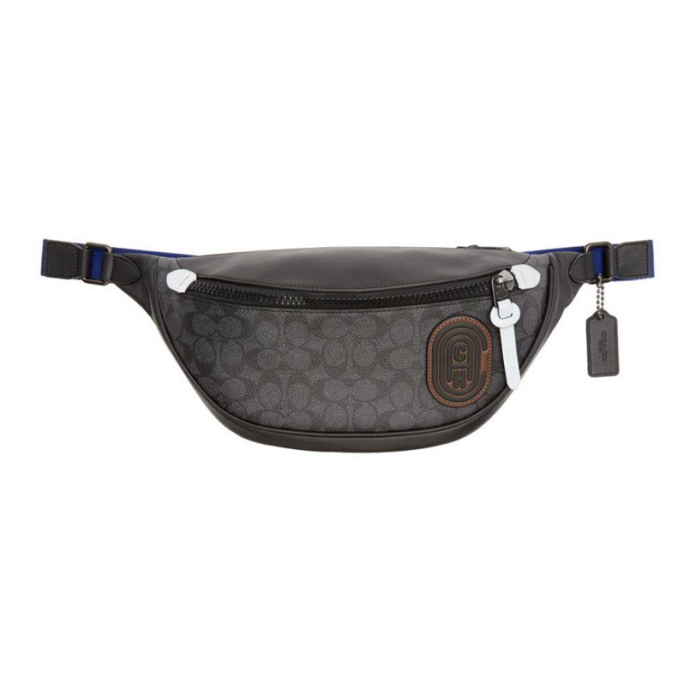 コーチ Coach 1941 メンズ ボディバッグ・ウエストポーチ バッグ【Black Rivington Belt Bag】Black