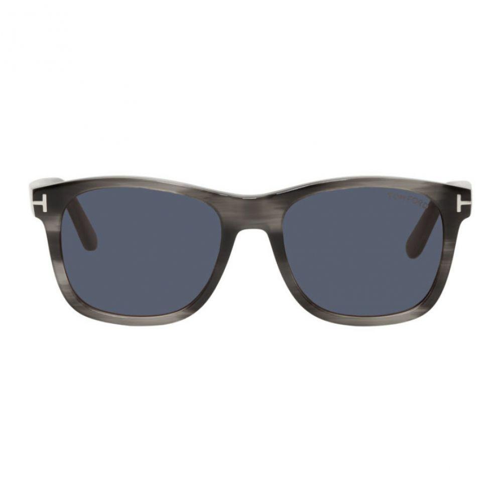 トム フォード Tom Ford メンズ メガネ・サングラス 【Grey Eric Sunglasses】Grey
