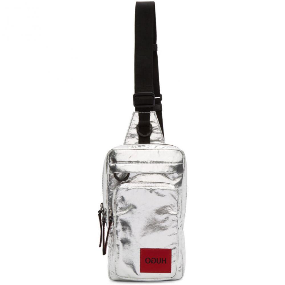 ヒューゴ ボス Hugo メンズ メッセンジャーバッグ バッグ【Silver Monostrap Messenger Bag】Silver