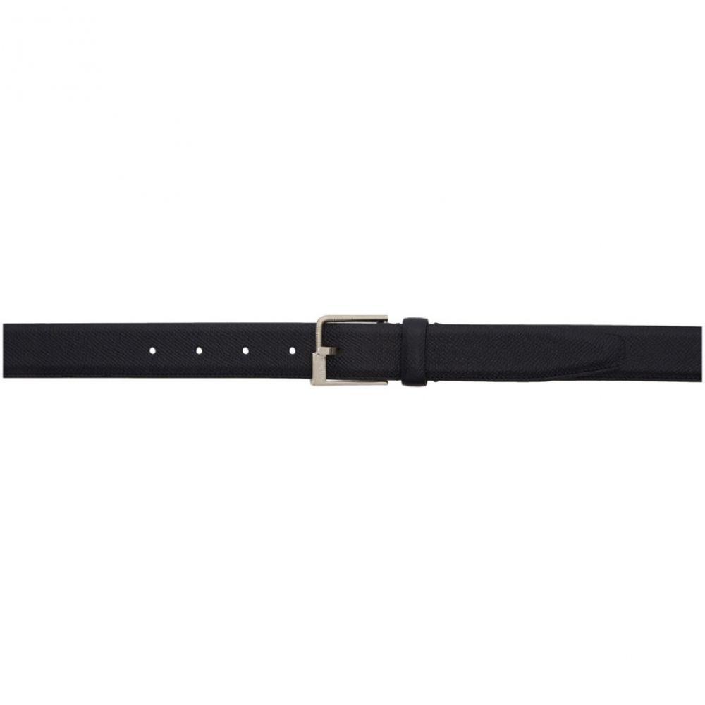 メゾン マルジェラ Maison Margiela メンズ ベルト 【Black Leather Minimal Belt】Black