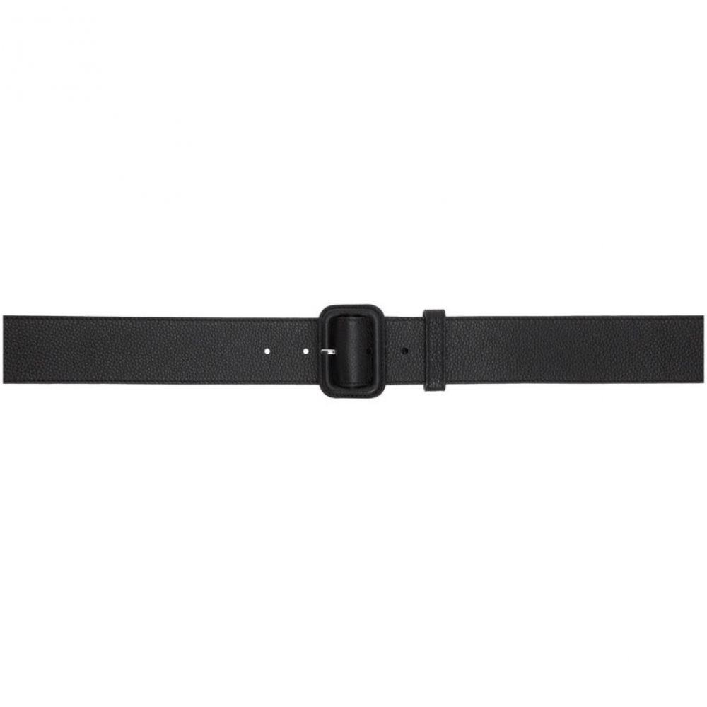 ランバン Lanvin メンズ ベルト 【Black Trench Belt】Black