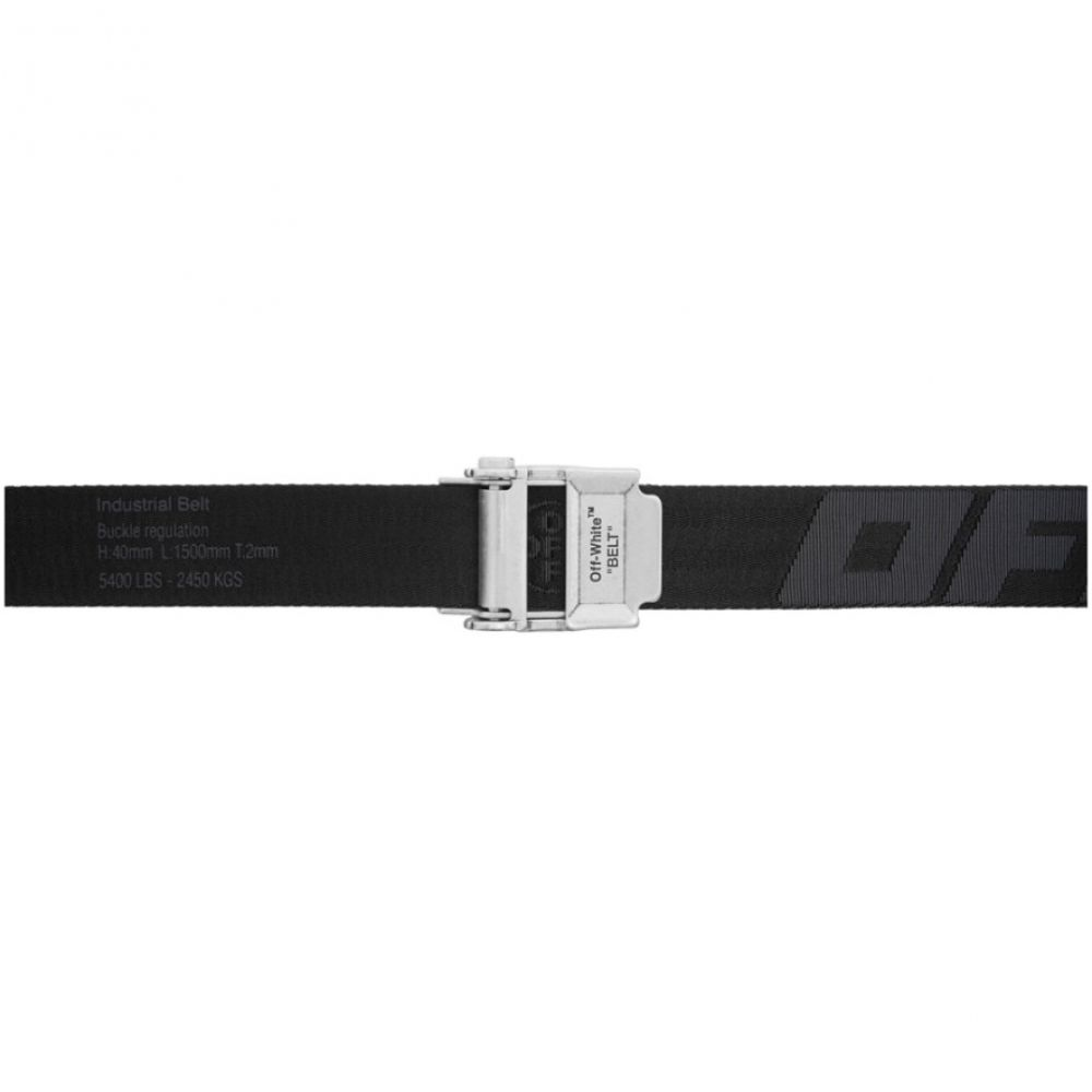 オフホワイト Off-White メンズ ベルト 【Black 2.0 Industrial Belt】Black