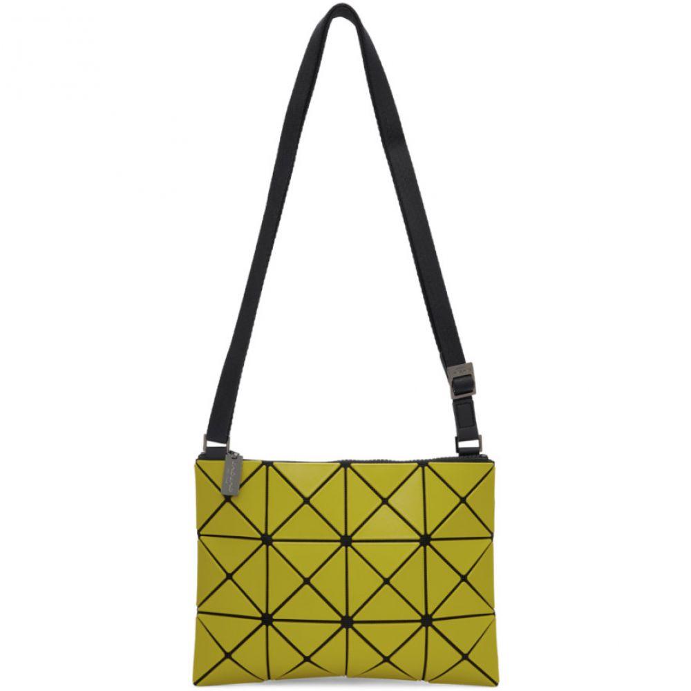イッセイ ミヤケ Bao Bao Issey Miyake メンズ メッセンジャーバッグ バッグ【Yellow Small Matte Lucent Crossbody Bag】Lime yellow