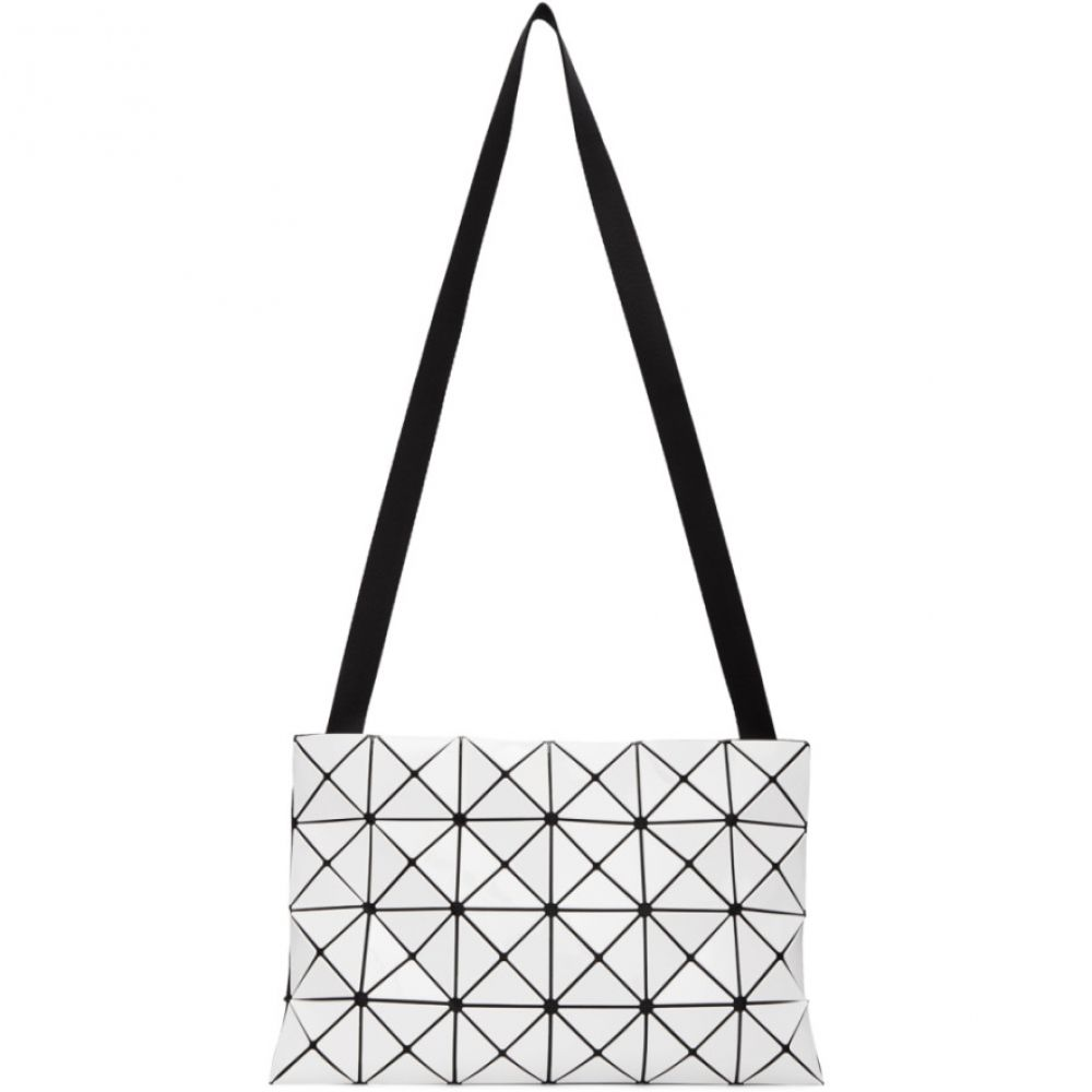 イッセイ ミヤケ Bao Bao Issey Miyake メンズ メッセンジャーバッグ バッグ【White Lucent Messenger Bag】White