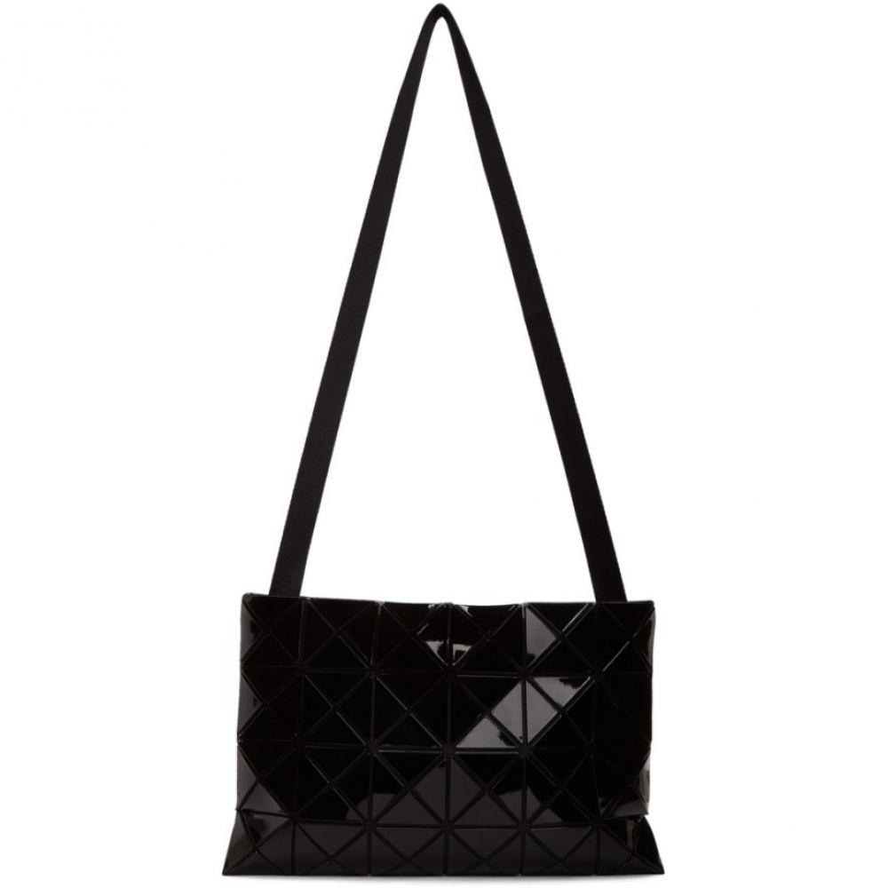 イッセイ ミヤケ Bao Bao Issey Miyake メンズ メッセンジャーバッグ バッグ【Black Lucent Messenger Bag】Black