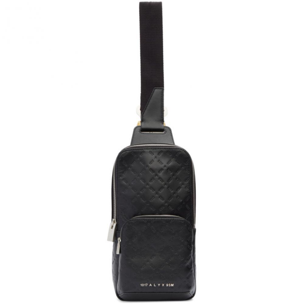 アリクス 1017 ALYX 9SM メンズ メッセンジャーバッグ バッグ【Black Logo Cross Body Bag】Black