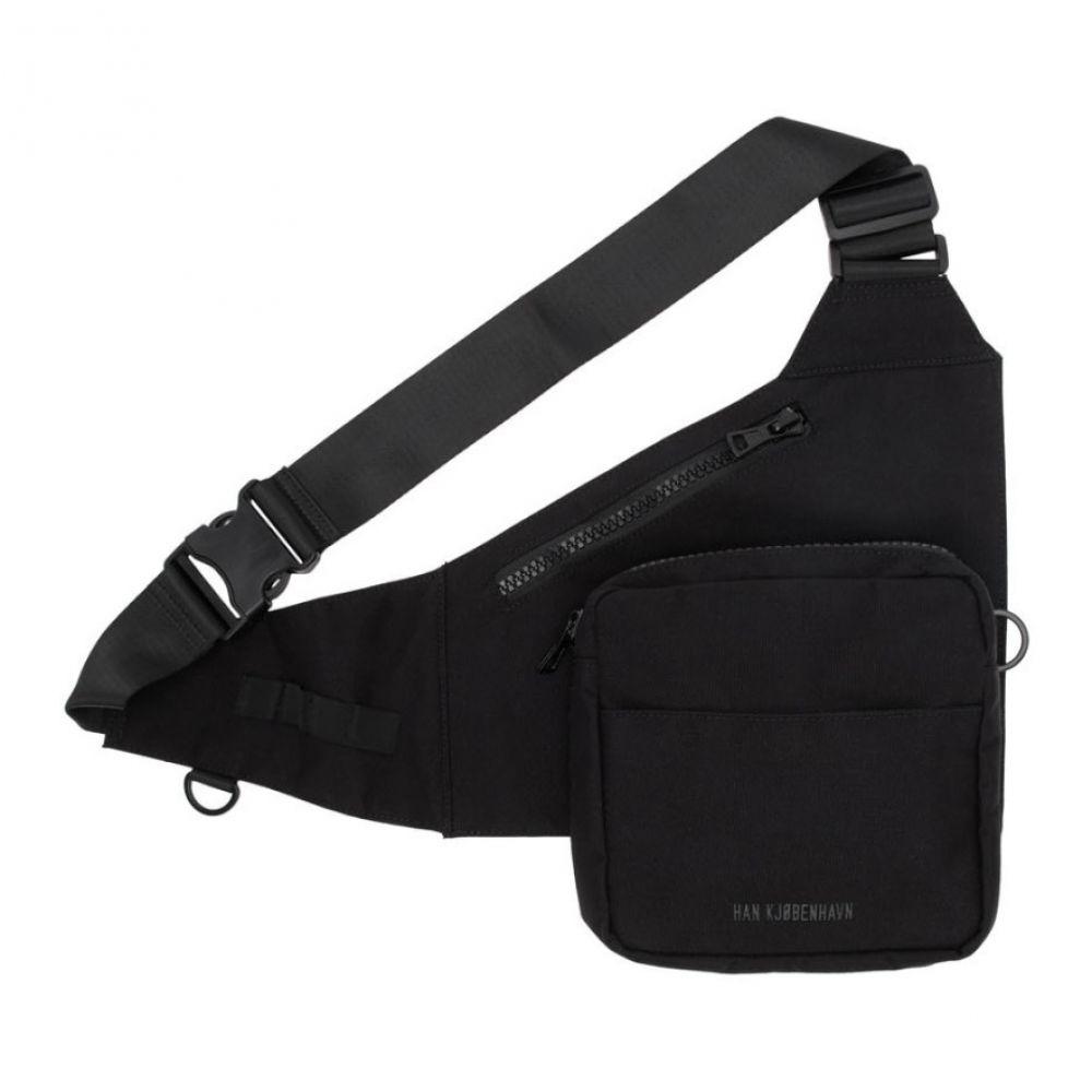 ハン コペンハーゲン Han Kjobenhavn メンズ メッセンジャーバッグ バッグ【Black Triangle Bag】Black