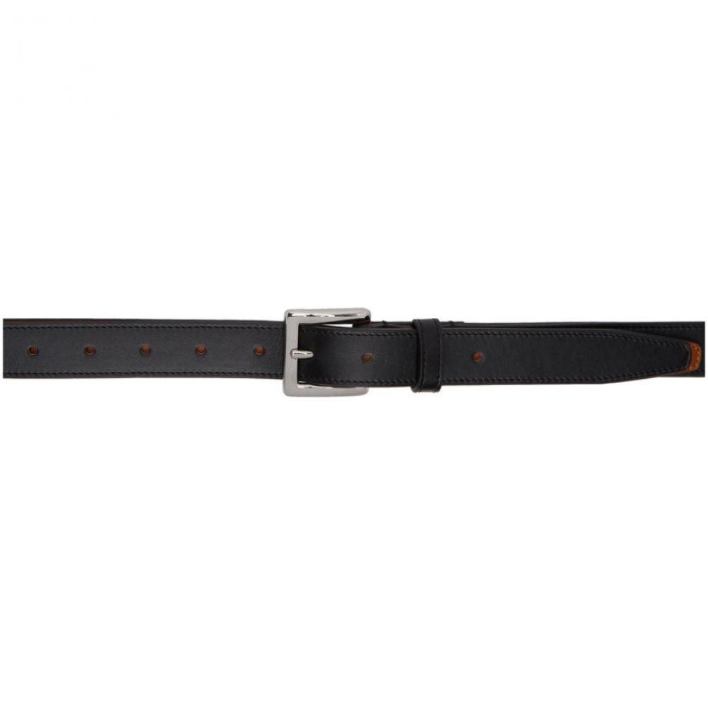 ワイプロジェクト Y/Project メンズ ベルト 【Black Double-Layer Belt】Black