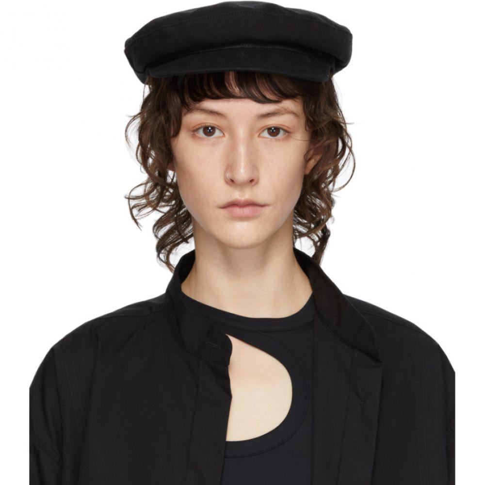 アンドゥムルメステール Ann Demeulemeester レディース 帽子 【Black Fisherman Hat】Black