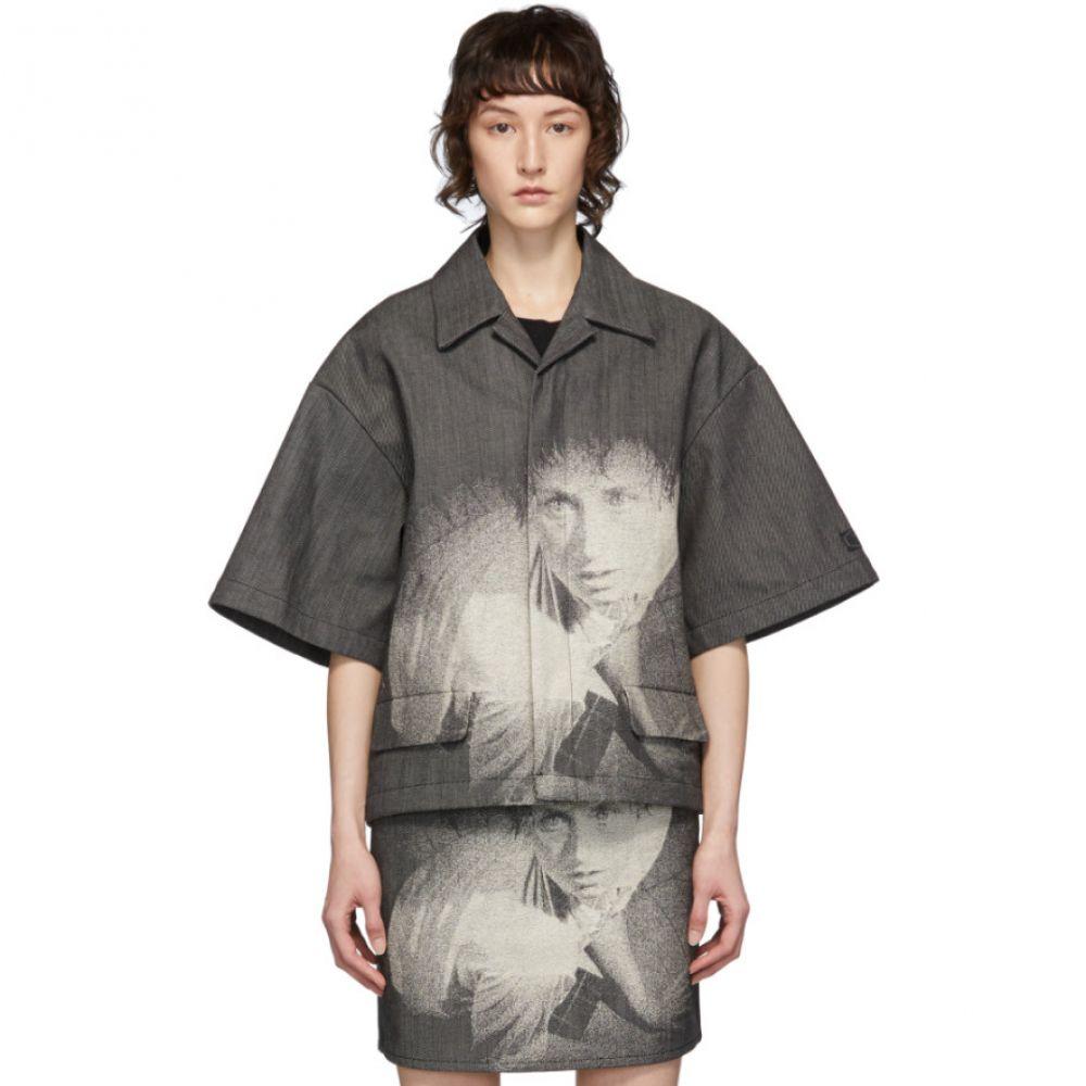 アンダーカバー Undercover レディース ジャケット アウター【Grey Cindy Sherman Edition Jacket】Black
