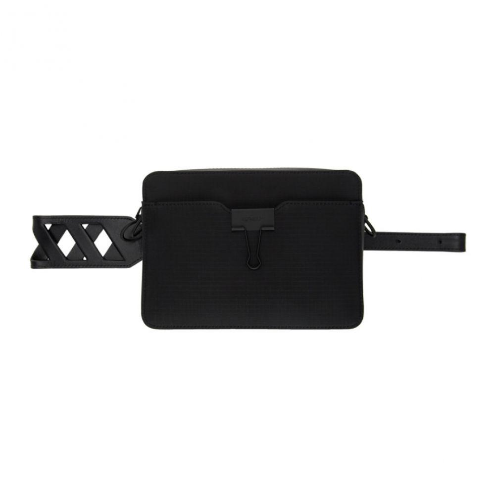 オフホワイト Off-White メンズ メッセンジャーバッグ カメラバッグ バッグ【Black Ripstop Camera Bag】Black/No color