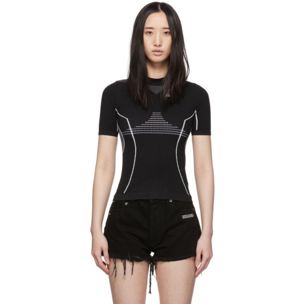 オフホワイト Off-White レディース Tシャツ トップス【Black Athletic T-Shirt】Black