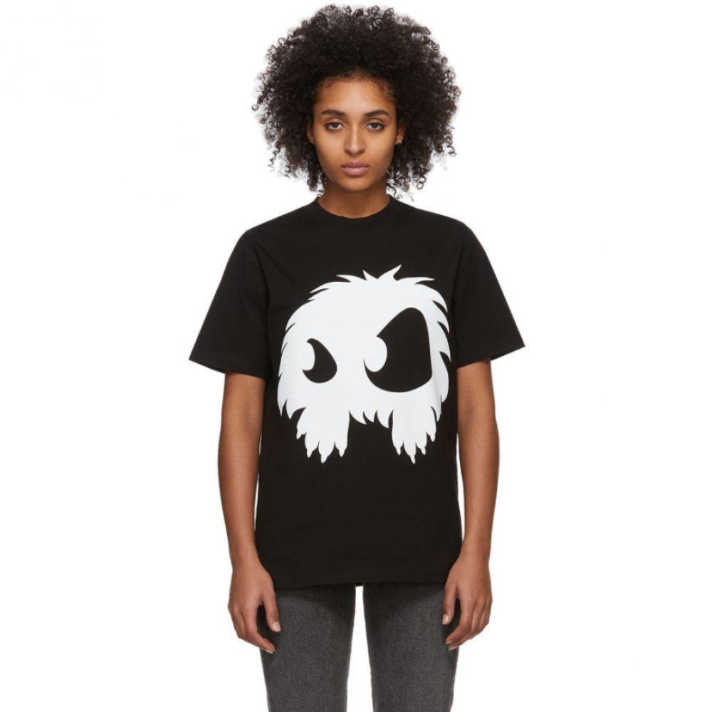 アレキサンダー マックイーン McQ Alexander McQueen レディース Tシャツ トップス【Black & White Mad Chester T-Shirt】Black/White