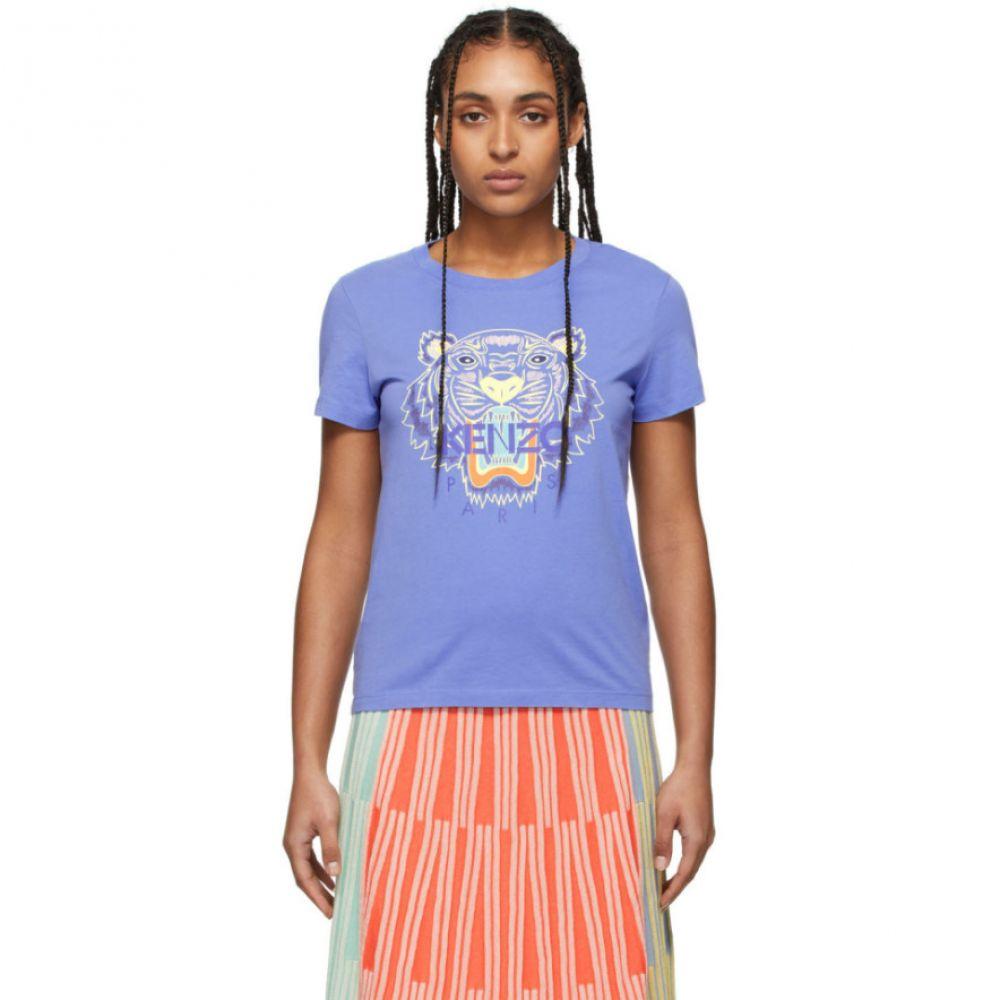 ケンゾー Kenzo レディース Tシャツ トップス【Purple Classic Tiger T-Shirt】Wisteria