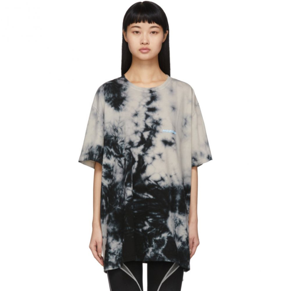 オフホワイト Off-White レディース Tシャツ トップス【Beige Tie-Dye 'Modern' T-Shirt】Beige/No color