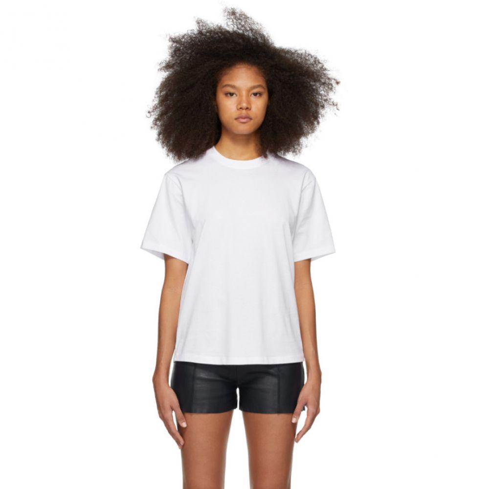 ヴィクトリア ベッカム Victoria Victoria Beckham レディース Tシャツ トップス【White Victoria T-Shirt】White