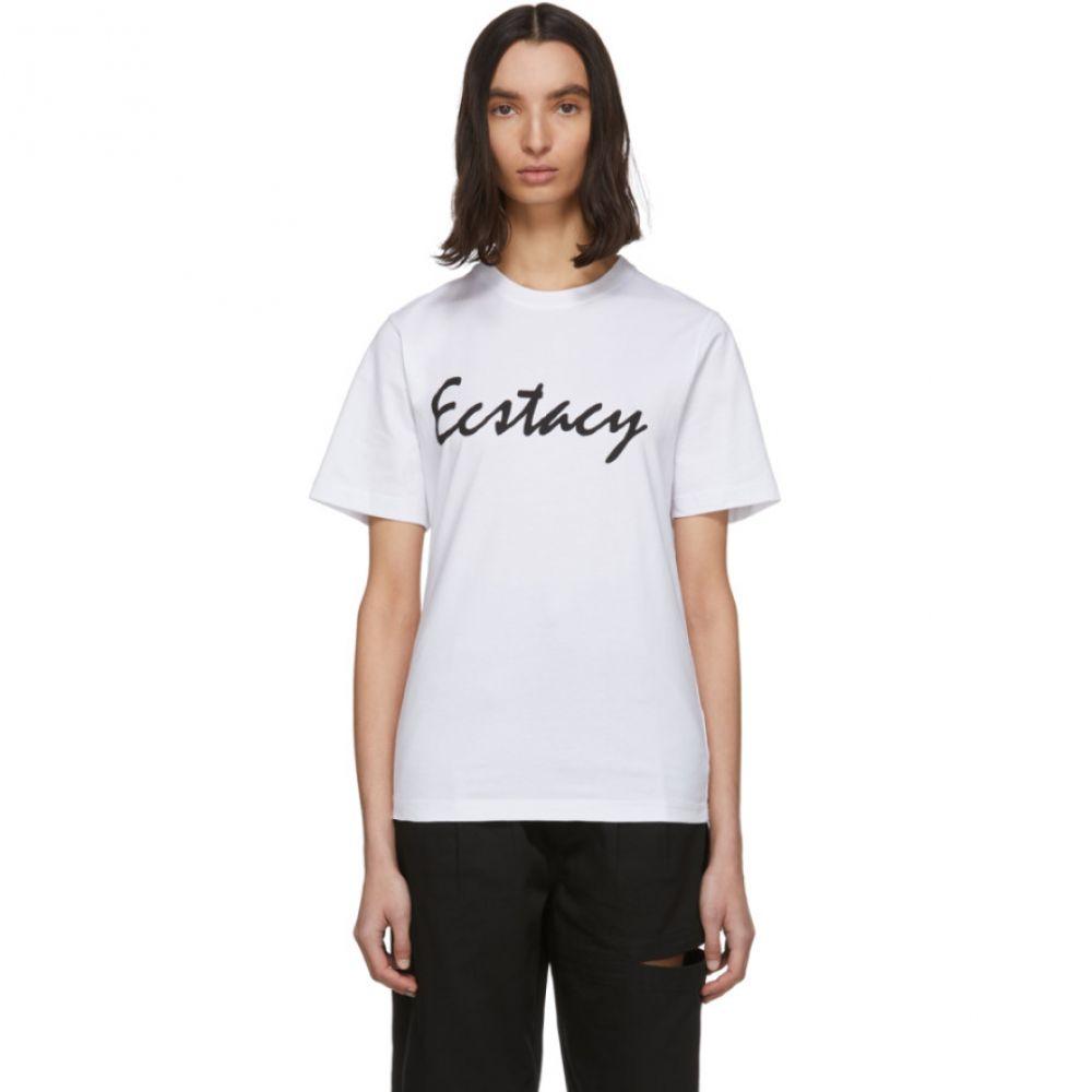 パークスアンドミニ Perks and Mini レディース Tシャツ トップス【White 'Ecstacy' T-Shirt】Optic white