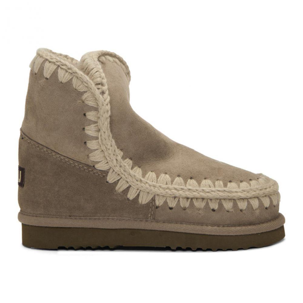ムー Mou レディース ブーツ ショートブーツ シューズ・靴【Grey 18 Ankle Boots】El grey