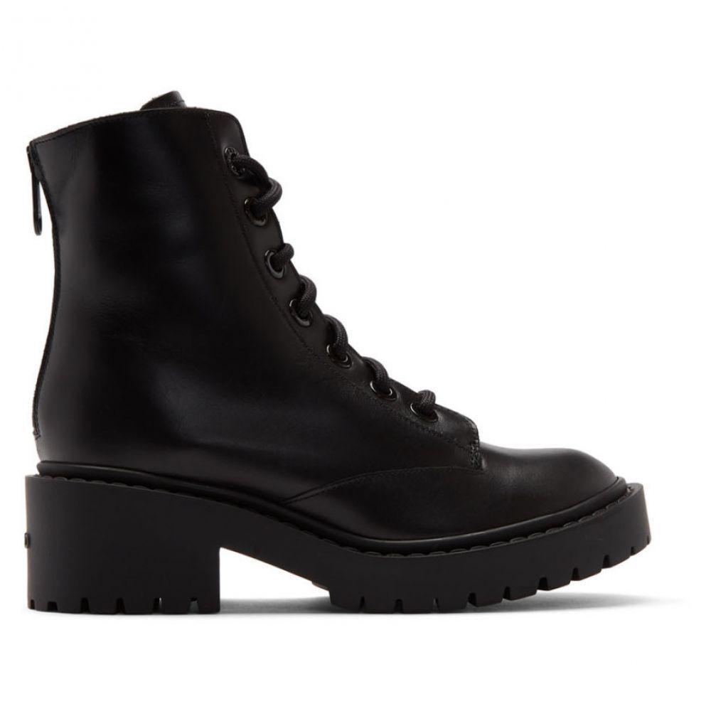 ケンゾー Kenzo レディース ブーツ シューズ・靴【Black Pike Fur Lined Boots】Black