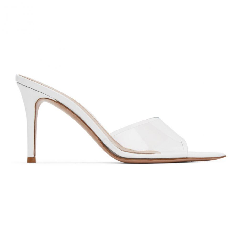 ジャンヴィト ロッシ Gianvito Rossi レディース サンダル・ミュール シューズ・靴【White Elle 85 Heeled Sandals】White