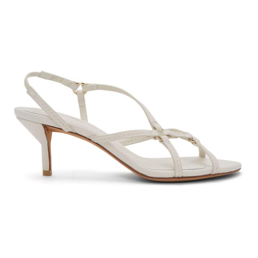 スリーワン フィリップ リム 3.1 Phillip Lim レディース サンダル・ミュール シューズ・靴【White Louise Strappy 60mm Sandals】Ivory