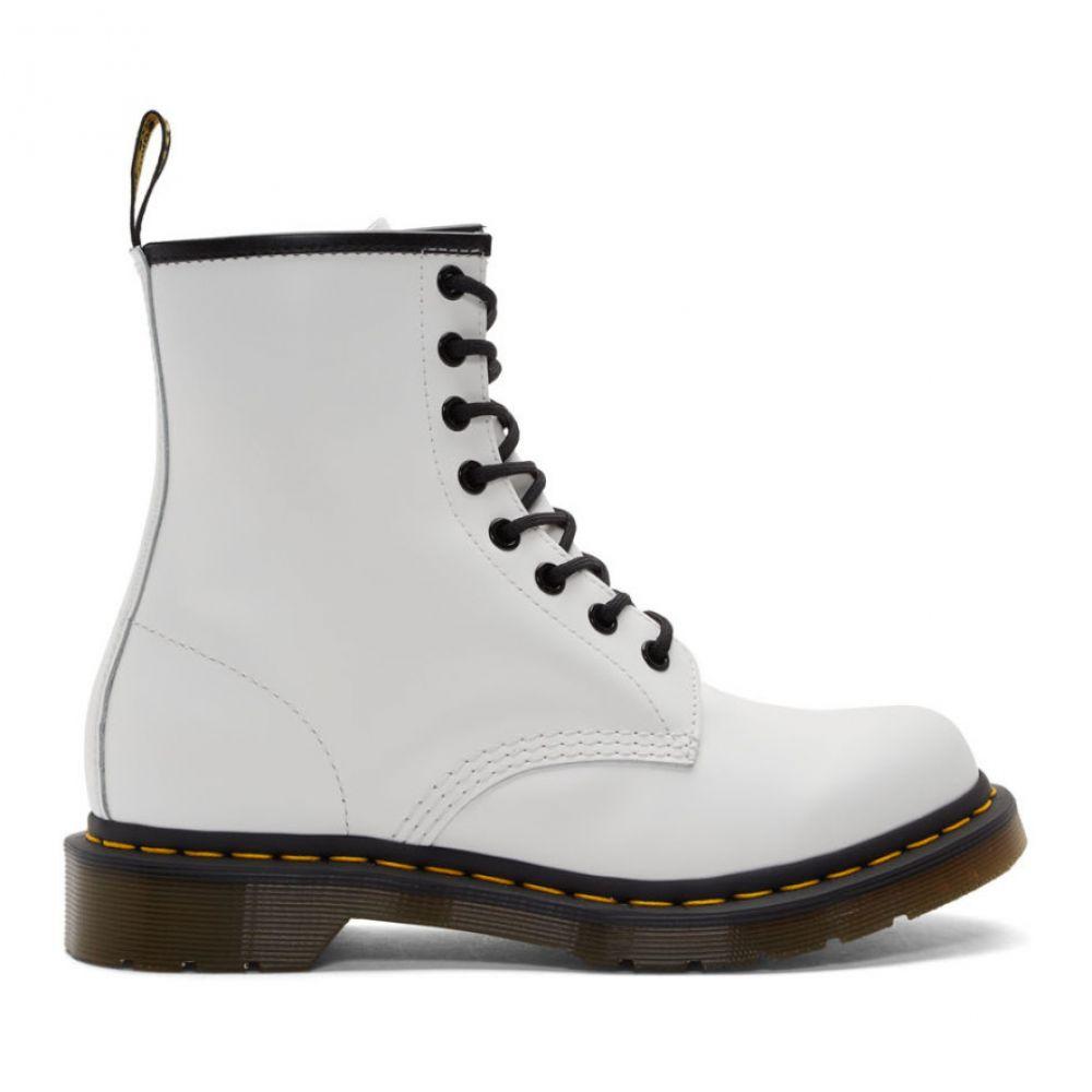 ドクターマーチン Dr. Martens レディース ブーツ シューズ・靴【White 1460 Boots】White