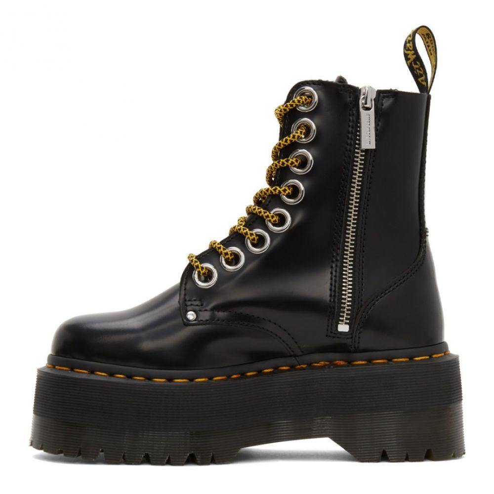 ドクターマーチン DrMartens レディース ブーツ シューズ・靴 Black Jadon Max Boots BlackCBQeWordx