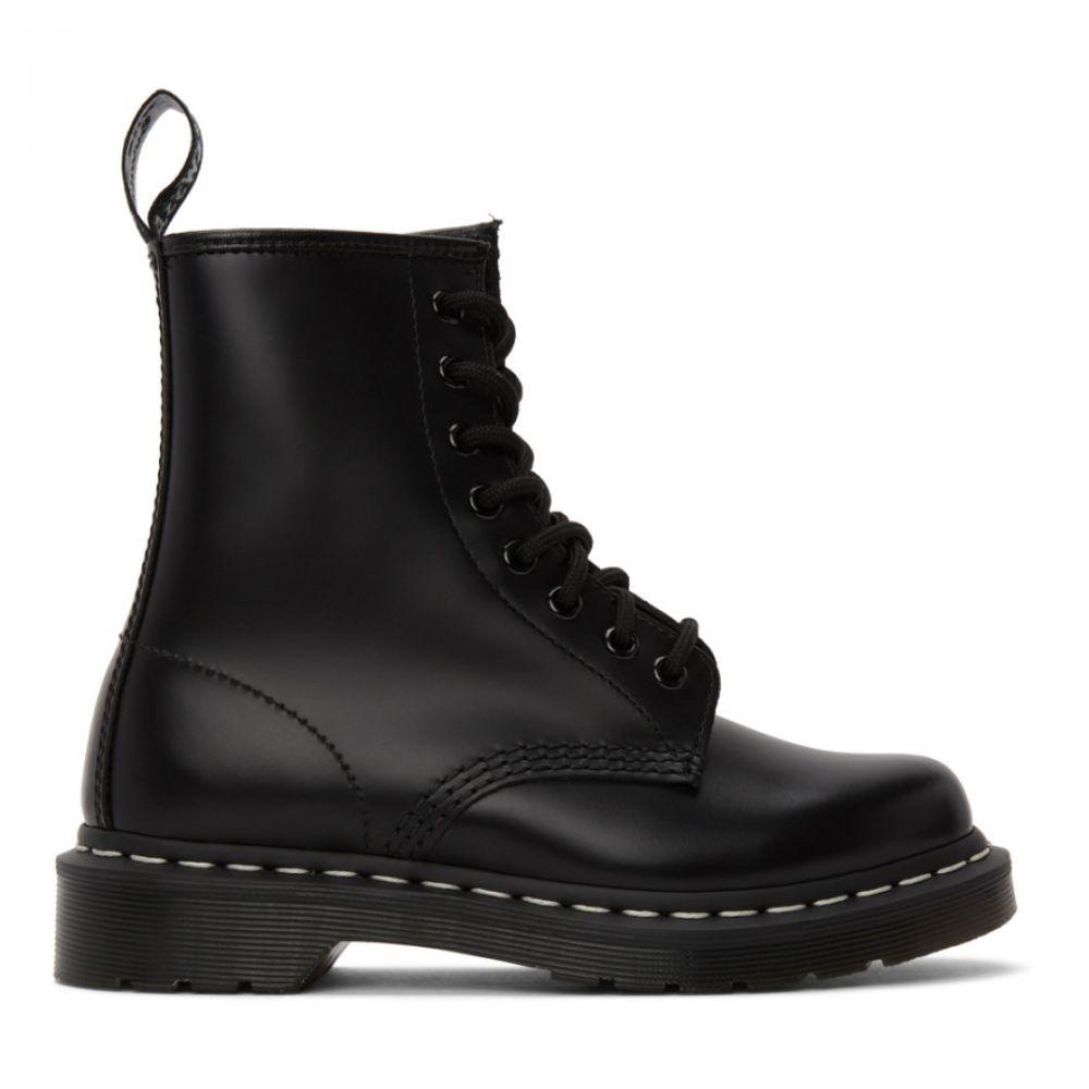 ドクターマーチン Dr. Martens レディース ブーツ シューズ・靴【Black 1460 Contrast Stitch Boots】Black