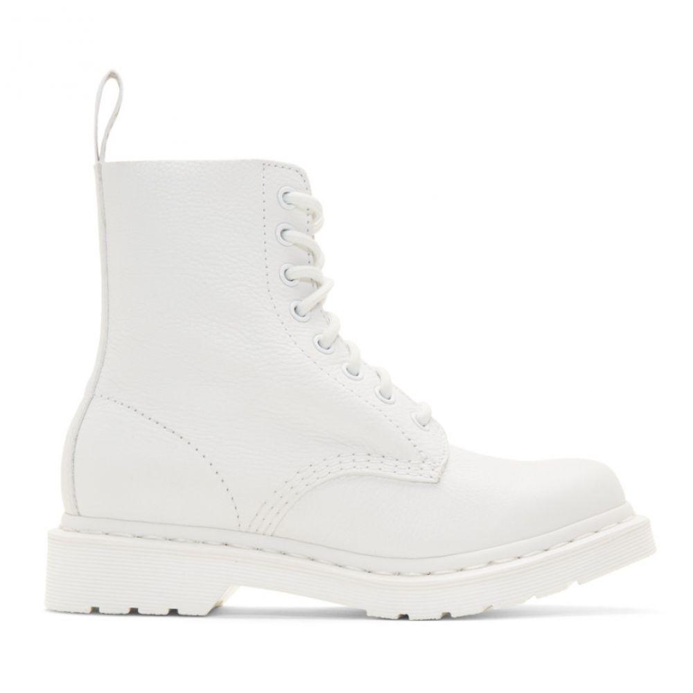 ドクターマーチン Dr. Martens レディース ブーツ シューズ・靴【White 1460 Pascal Boots】White