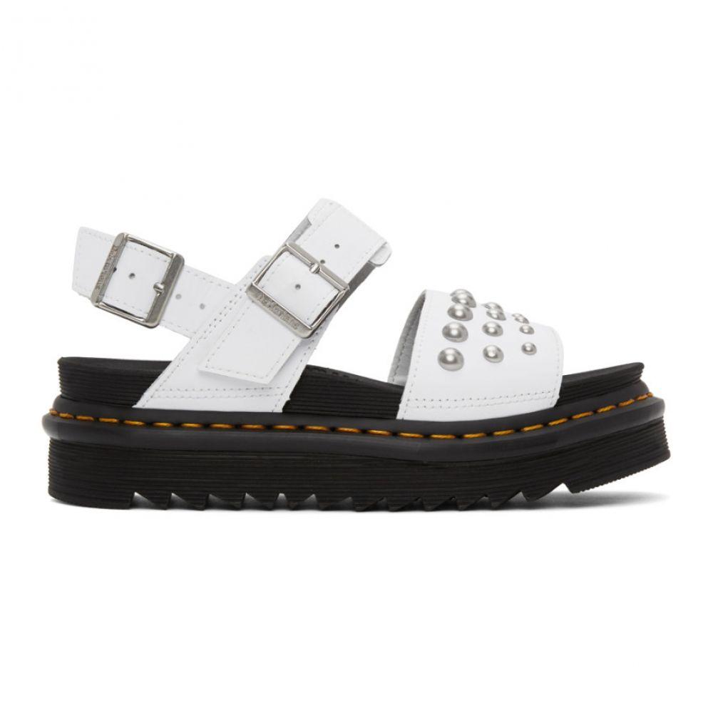 ドクターマーチン Dr. Martens レディース サンダル・ミュール シューズ・靴【White Stud Voss Sandals】White