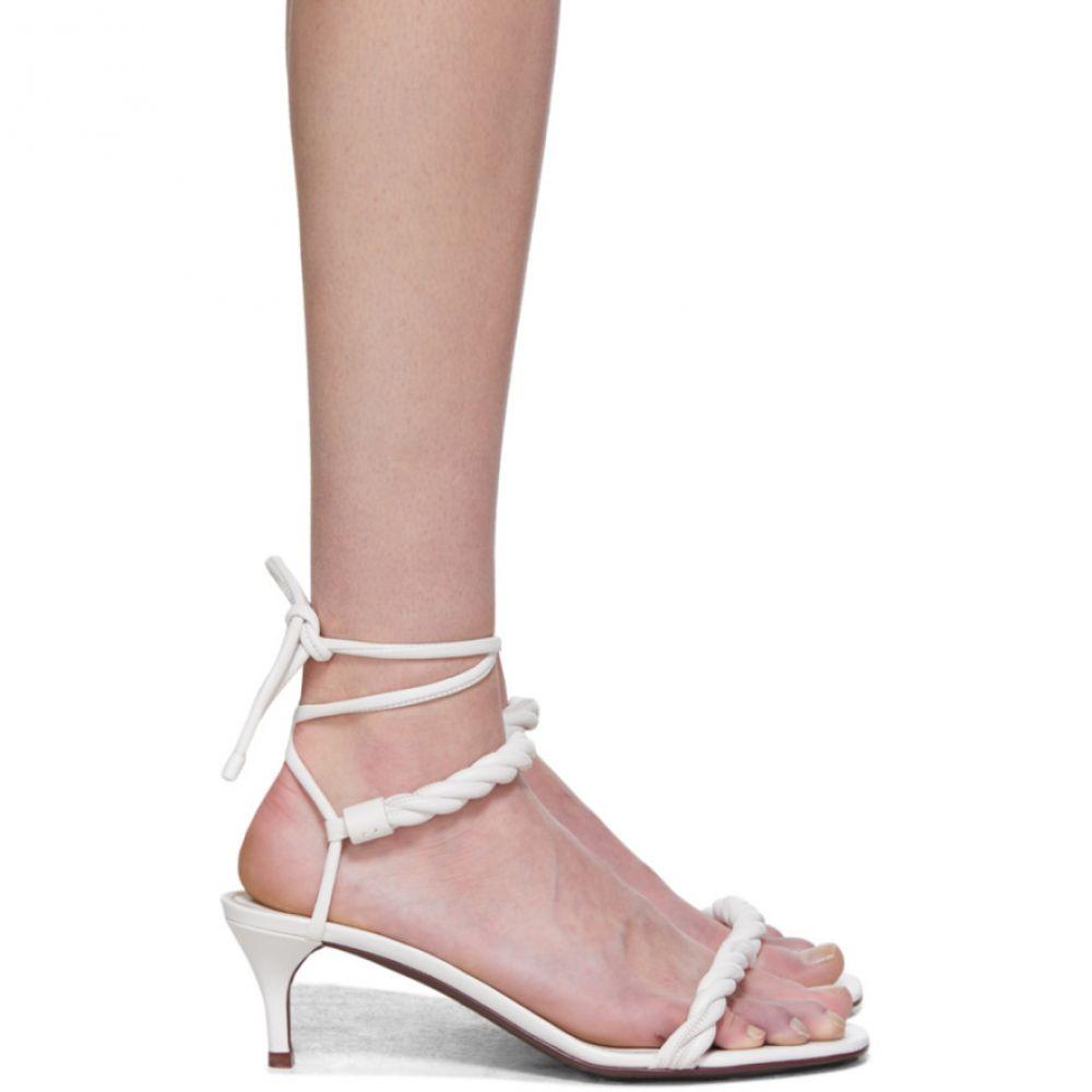 ヴァレンティノ Valentino レディース サンダル・ミュール シューズ・靴【White Garavani 'The Rope' Sandals】White