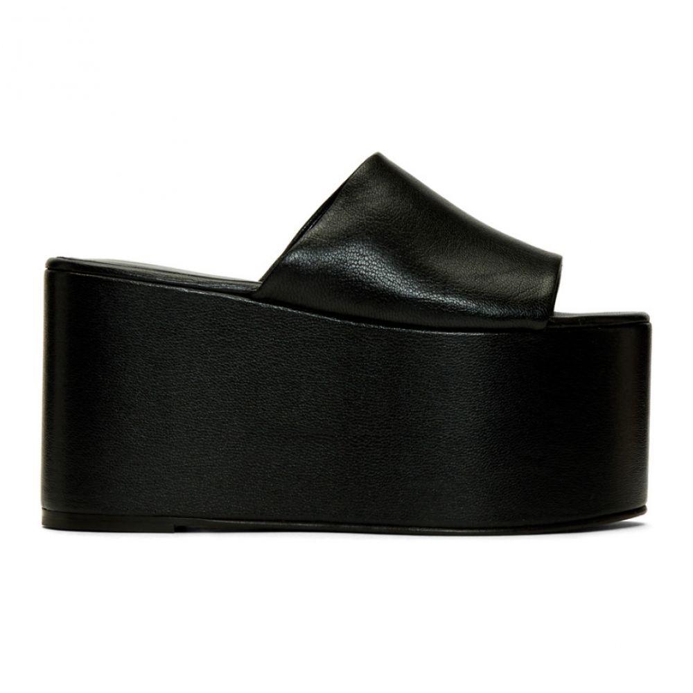 サイモンミラー Simon Miller レディース サンダル・ミュール シューズ・靴【Black Blackout Platform Sandals】Black