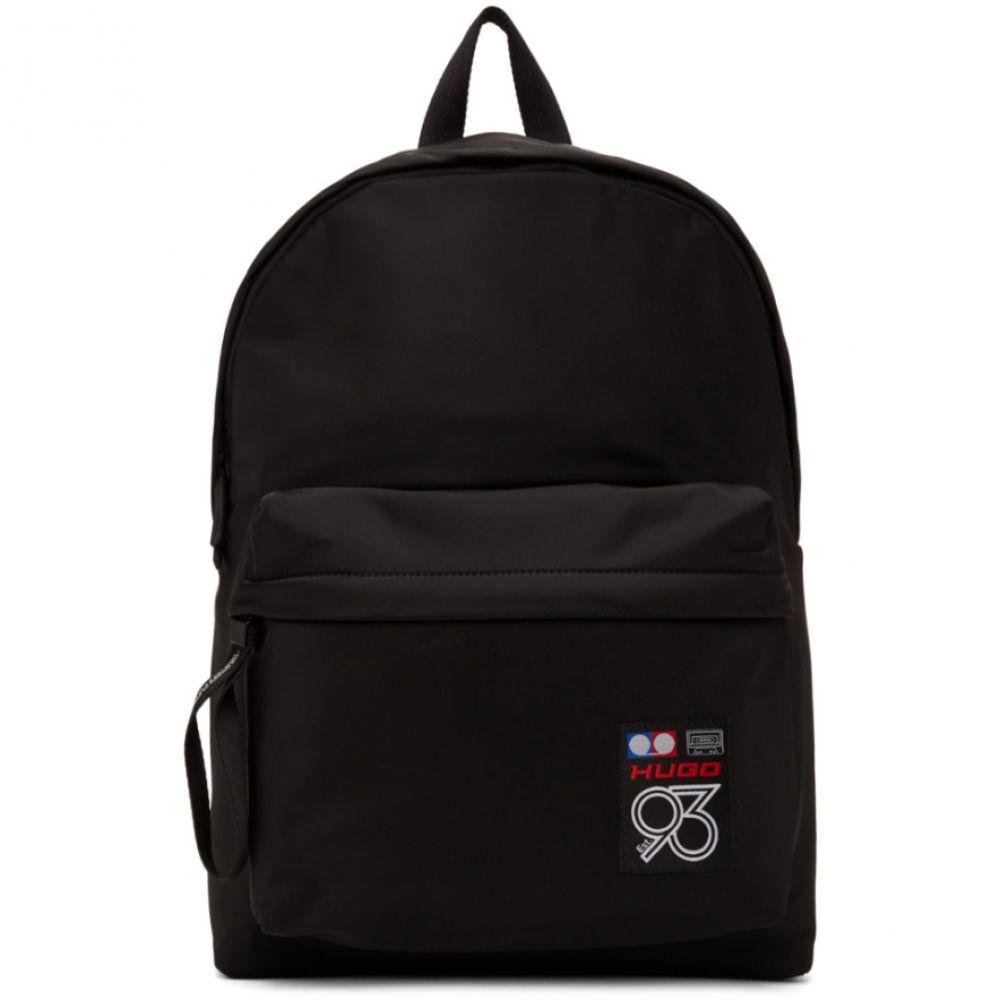 ヒューゴ ボス Hugo メンズ バックパック・リュック バッグ【Black 93 Berlin Record Backpack】Black