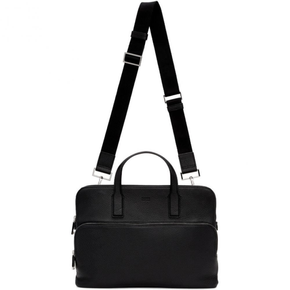 ヒューゴ ボス Boss メンズ ビジネスバッグ・ブリーフケース バッグ【Black Slim Crosstown Briefcase】Black