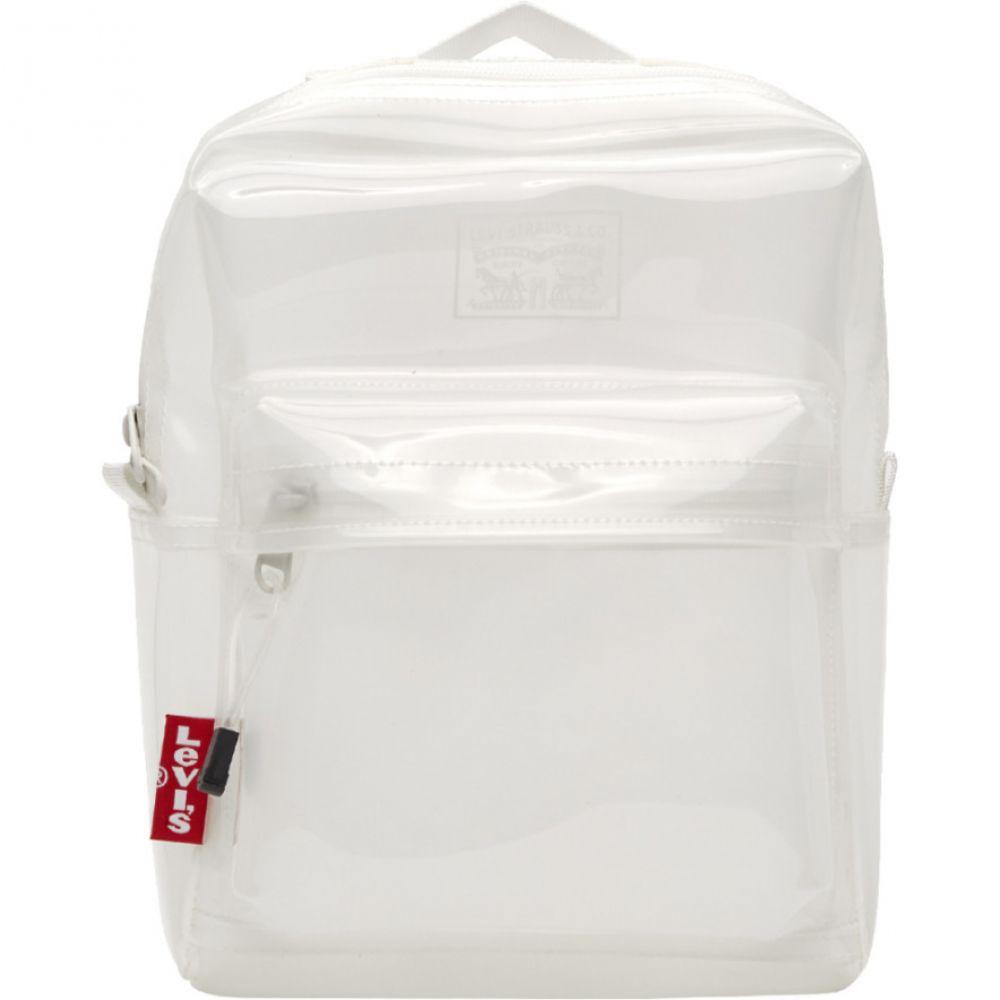 リーバイス Levi's メンズ バックパック・リュック バッグ【White Clear Backpack】Clear