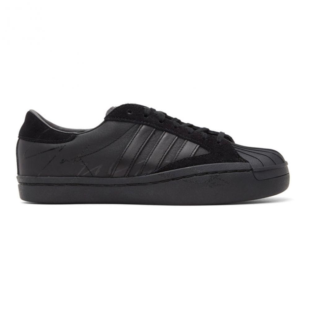 ワイスリー Y-3 レディース スニーカー シューズ・靴【Black Yohji Star Sneakers】Black/Cloud white/Black