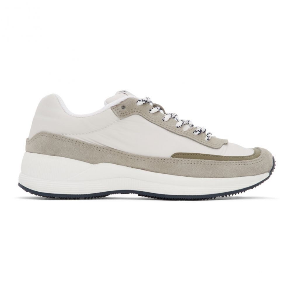 アーペーセー A.P.C. レディース スニーカー シューズ・靴【White & Grey Teenage Mary Sneakers】White