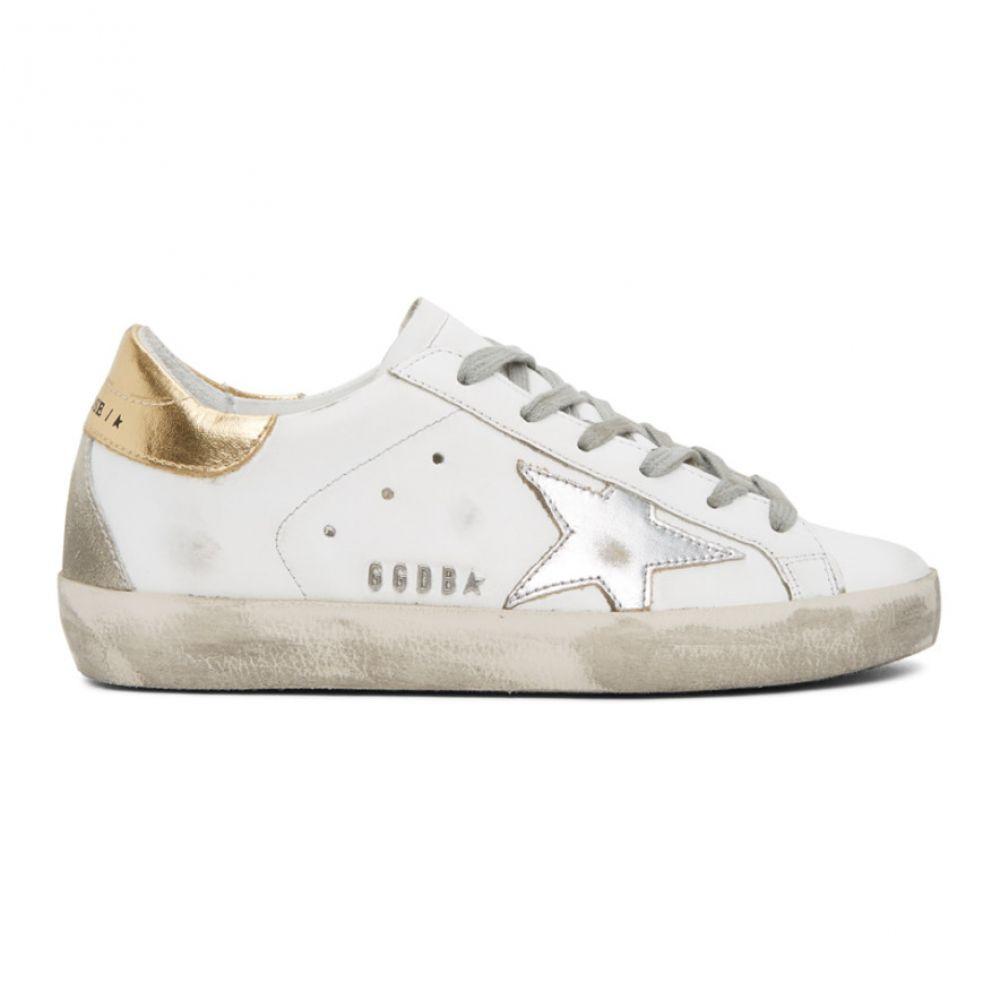 ゴールデン グース Golden Goose レディース スニーカー シューズ・靴【Silver & Gold Superstar Sneakers】Silver/Gold