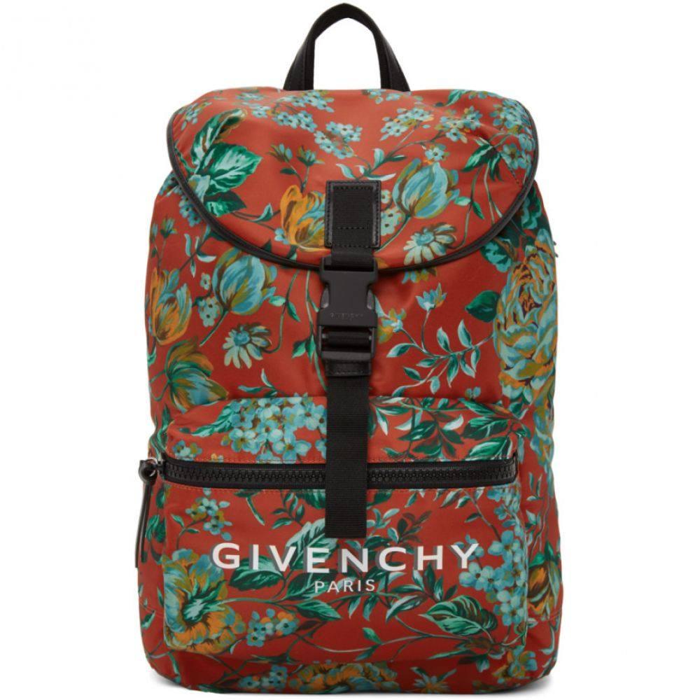 ジバンシー Givenchy メンズ バックパック・リュック バッグ【Red Logo Packaway Backpack】Multicolor light