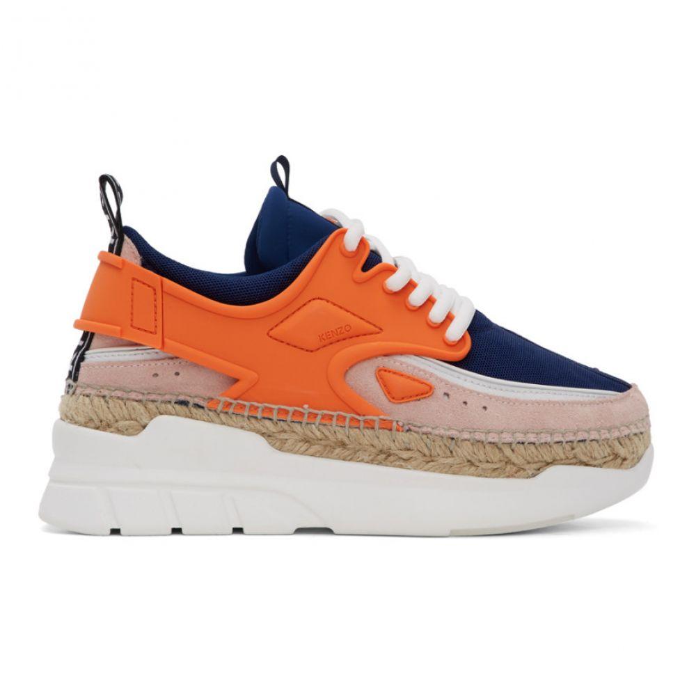 ケンゾー Kenzo レディース スニーカー シューズ・靴【Orange K-Lastic Sneakers】Orange