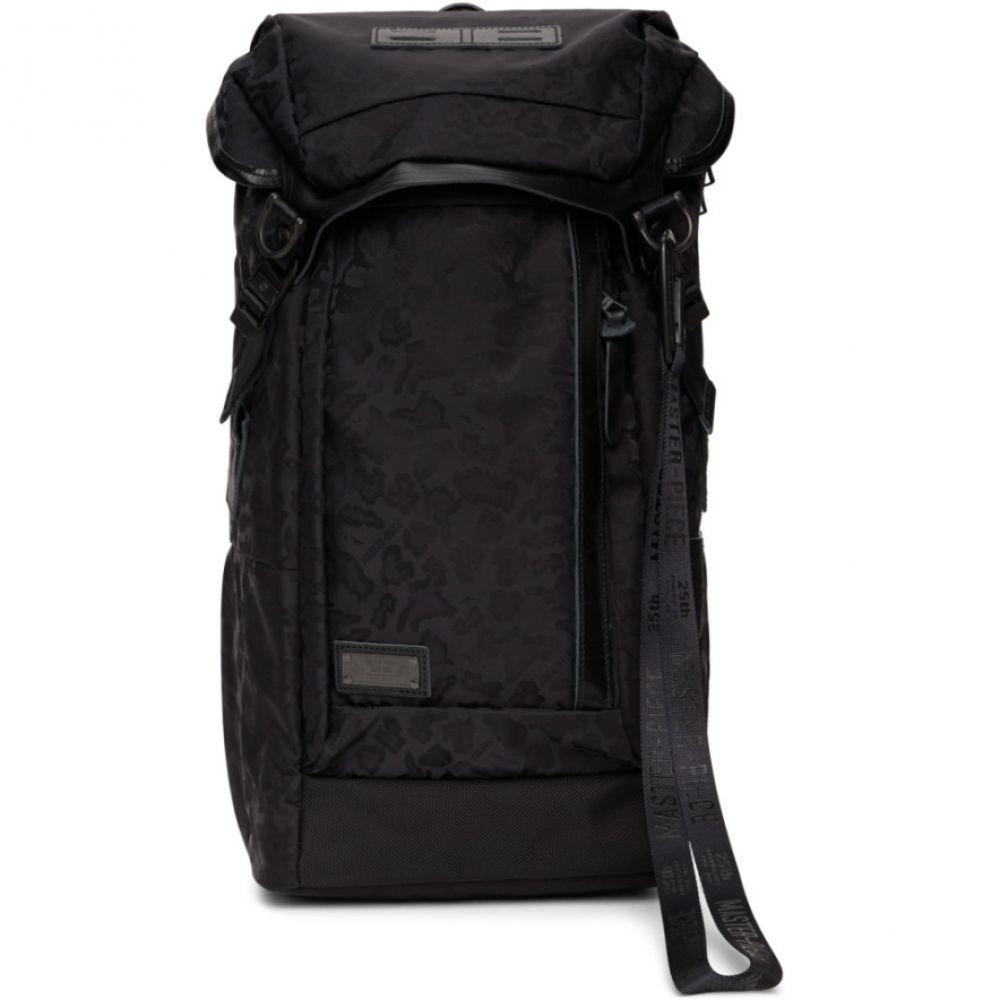 マスターピース Master-Piece Co メンズ バックパック・リュック バッグ【Black Leopard 25th Anniversary Potential Backpack】Black