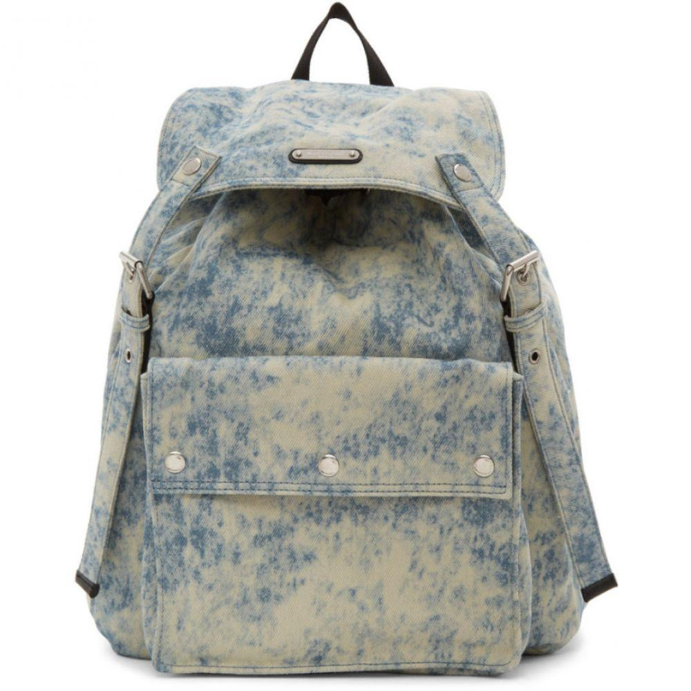 イヴ サンローラン Saint Laurent メンズ バックパック・リュック バッグ【Blue Denim Noe Backpack】Faded blue