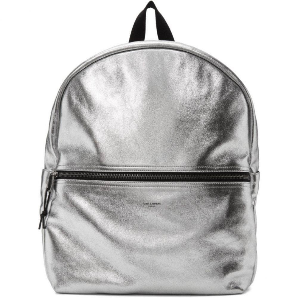 イヴ サンローラン Saint Laurent メンズ バックパック・リュック バッグ【Silver Nuxx Backpack】Silver