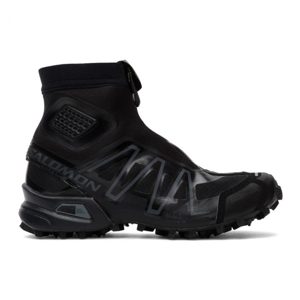 サロモン Salomon レディース スニーカー シューズ・靴【Black Snowcross Advanced Sneakers】Black