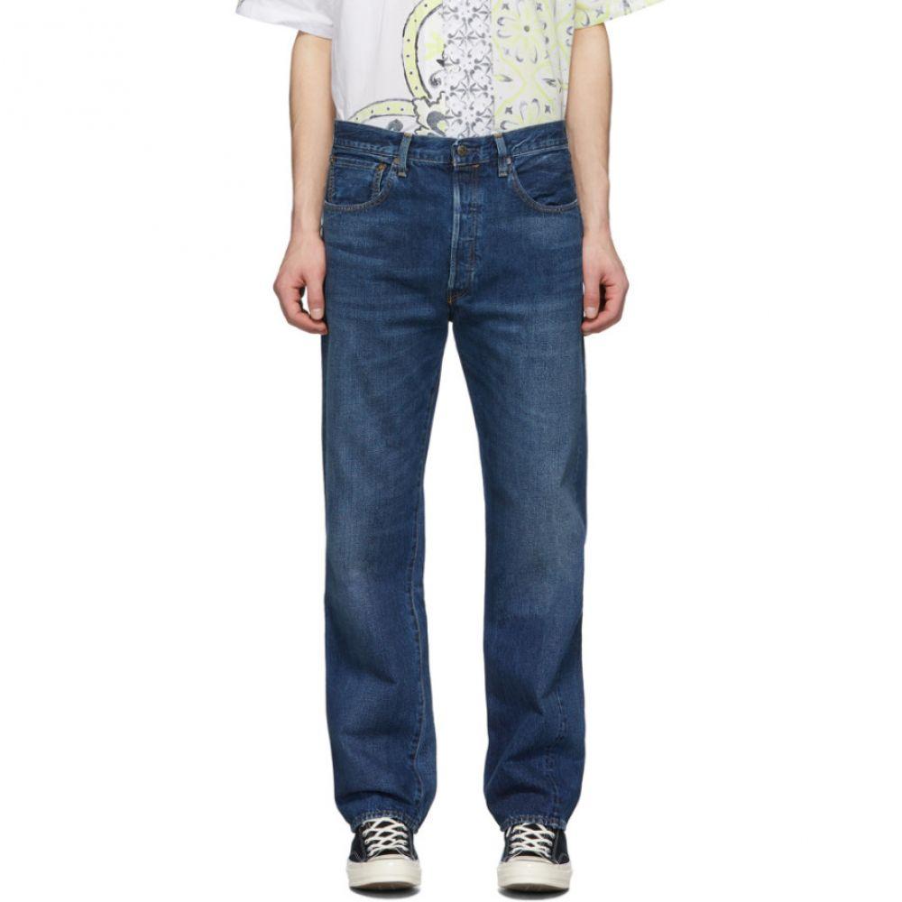 リーバイス Levi's Vintage Clothing メンズ ジーンズ・デニム ボトムス・パンツ【Blue 501 1955 Straight Jeans】Dragnet blue