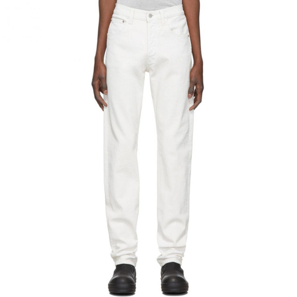 ヘルムート ラング Helmut Lang メンズ ジーンズ・デニム ボトムス・パンツ【White Masc High Straight Jeans】White