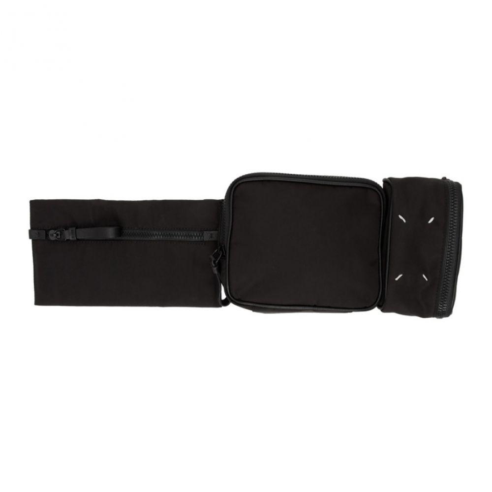 メゾン マルジェラ Maison Margiela メンズ ボディバッグ・ウエストポーチ バッグ【Black Multi Pouch Belt Bag】Black