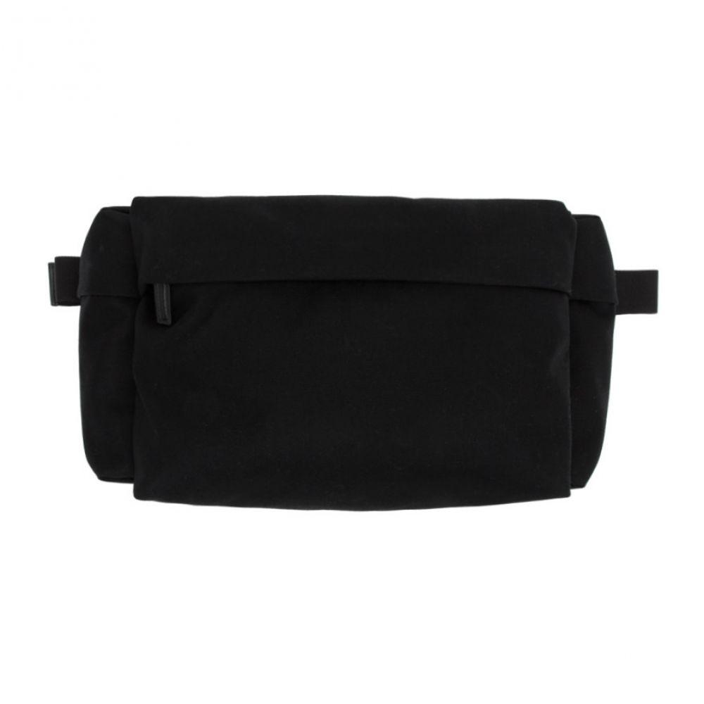 ジル サンダー Jil Sander メンズ ボディバッグ・ウエストポーチ バッグ【Black Climb Belt Bag】Black