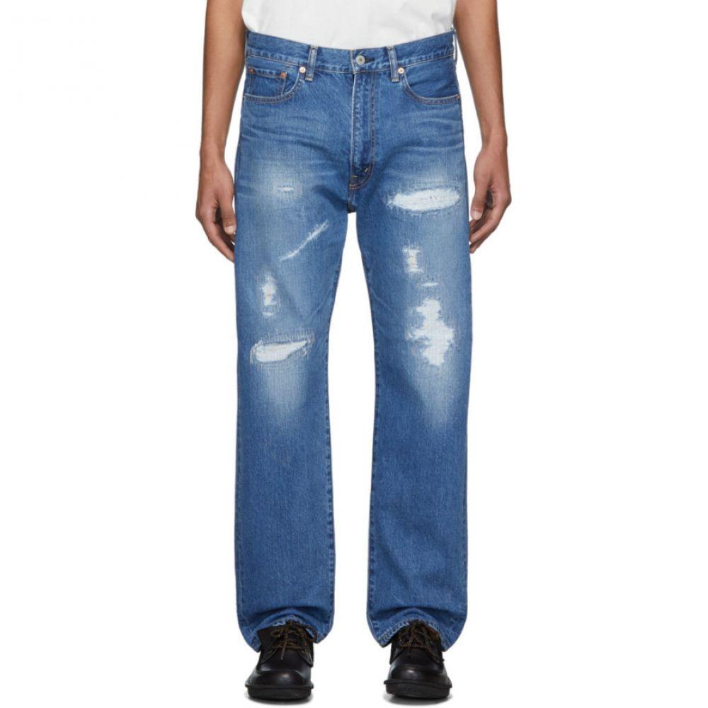ジュンヤ ワタナベ Junya Watanabe メンズ ジーンズ・デニム ボトムス・パンツ【Blue Garment-Treated Jeans】Indigo