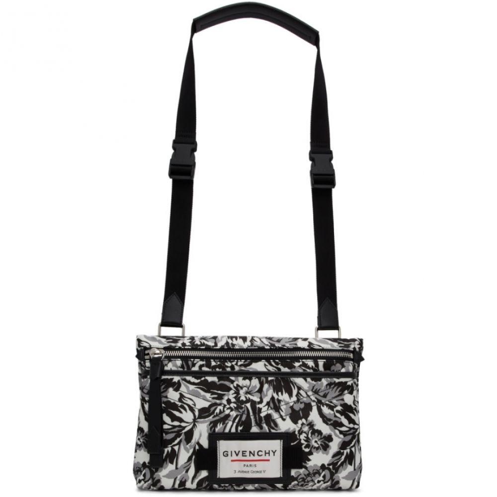 ジバンシー Givenchy メンズ メッセンジャーバッグ バッグ【Black & White Downtown Messenger Bag】Black/White